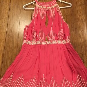 Free People Beaded Dress